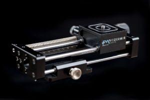 Macroder slitta micrometrica fotografia macro